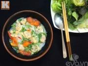 Bếp Eva - Bún nghêu thơm ngon nóng hổi