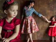Làng sao - Con gái Hồng Nhung chuyên nghiệp làm mẫu nhí