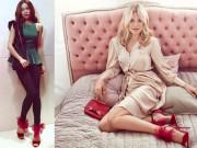Thời trang - Hà Hồ lại đụng giày hiệu với vô số mỹ nhân thế giới