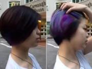 Tết Dương lịch 2016: Giới trẻ Việt mê mệt mốt tóc nhuộm bảy màu