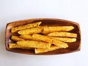 Bếp Eva - Nhâm nhi khoai lang nướng tiêu
