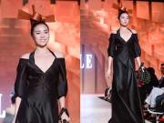 Thời trang - Hoa hậu Kỳ Duyên lạ lẫm khó nhận ra trên sàn diễn thời trang