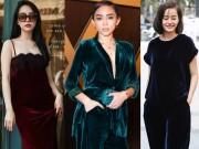 Thời trang - Sao Việt sẽ cho bạn thấy không mặc đồ nhung là điều vô cùng đáng tiếc