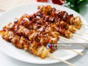 Bếp Eva - Ngất ngây hương vị thịt xiên nướng thơm lừng