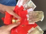 Tin tức - Bê tráp cưới nhận quả đắng tiền lì xì 500 -1.000 đồng ngay ngày mùng 1