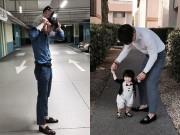 Làm mẹ - Bố siêu mẫu 9x khiến nhiều chị em mê mẩn vì chăm con giỏi
