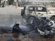 Tin tức - Công bố danh tính nạn nhân vụ nổ xe tan nát giữa phố