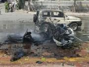 Tin tức - Vụ nổ taxi ở Quảng Ninh: Hành khách tự tử bằng mìn tự tạo