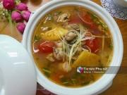 Bếp Eva - Canh riêu hàu chua chua, béo ngậy đầy bổ dưỡng