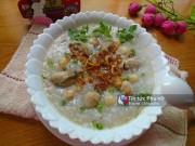 Bếp Eva - Cháo hàu hạt sen bổ dưỡng cho ngày mới