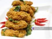 Bếp Eva - Đổi vị với cánh gà chiên sốt trứng muối