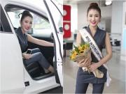 Á hậu Bảo Như xinh đẹp, trẻ trung, đầy cuốn hút ở sân bay