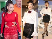 Thời trang - Thời trang sao Việt xấu: Angela Phương Trinh cộng chục tuổi, Thu Minh lộ ngấn mỡ