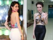Chán mặc áo, sao Việt quấn khăn sexy đãi mắt khán giả