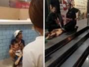 Tin tức - Người đàn ông dùng dao khống chế bé trai 2 tuổi ngay giữa siêu thị Hà Nội