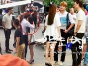 """Xem & Đọc - Kang Tae Oh ôm chầm Nhã Phương trước mặt """"kẻ thứ ba"""" Mạnh Trường"""