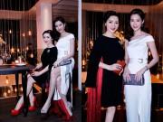 Làng sao - Hoa hậu Giáng My đẹp kiêu sa đọ sắc cùng Đặng Thu Thảo