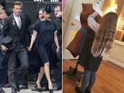 Làng sao - Victoria đã hối hận vì đi giày cao gót lúc mang bầu 9 tháng