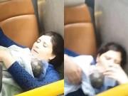 Tin tức - Tài xế, cảnh sát đỡ đẻ cho sản phụ trên xe bus gây sốt mạng xã hội