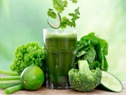 Sức khỏe - Công thức làm nước ép rau giúp thải độc, đẹp da và ngăn chặn tế bào ung thư