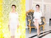 """Làng sao - Hoa hậu Giáng My tinh khôi khoe """"nhan sắc không tuổi"""