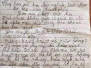 Tin tức - Đơn xin thôi học của nam sinh lớp 7 vì 'nhà hết gạo ăn, bỏ học để nuôi bố mẹ'