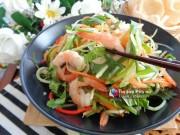 Bếp Eva - Nộm cần tây ăn mãi vẫn không ngán