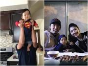 Làng sao - Vợ chồng Ngọc Quyên hạnh phúc bên con trai 9 tháng tuổi