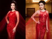 Thời trang - Đến lượt Á hậu Huyền My mặc lại váy của HH Đỗ Mỹ Linh