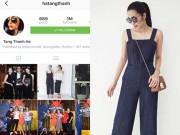 Làng sao - Dừng hoạt động showbiz, Hà Tăng vẫn cán mốc 1 triệu người theo dõi