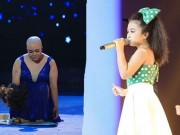"""TV Show:  """" Tiểu Thu Minh """"  10 tuổi gây ngạc nhiên; Cô gái  ' bị ung thư '  khiến GK nghẹn ngào"""