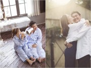 """""""Tan chảy"""" với ảnh cưới ngọt ngào của Khánh Hiền và bạn trai Việt kiều"""