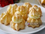 Bếp Eva - Thèm chảy nước miếng với bánh su kem nhân custard