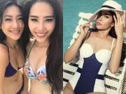 Làng sao - Nam Em được khen ngợi khi diện bikini khoe body hoàn hảo
