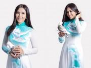 Nguyễn Thị Loan mang áo dài Ước vọng hoà bình tới Las Vegas