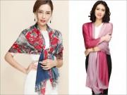 Thời trang - Top 10 mẫu khăn choàng đẹp cho mùa thu đông 2016