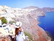 Nhà đẹp - Theo chân cô gái Việt tới thăm những ngôi nhà nấm trên đảo Santorini