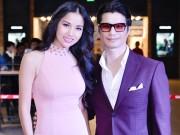 Dustin Nguyễn tình tứ ôm eo Bebe Phạm đi xem phim