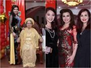 Hoa hậu Kim Hồng về nước, tổ chức tiệc hoành tráng mừng thọ mẹ