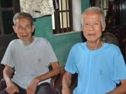 """Tin tức - Những điều """"lạ"""" về cặp song sinh gần trăm tuổi ở Hải Dương"""