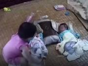 Clip Eva - Video: Thót tim nhìn chị gái bế em khi ba mẹ vắng nhà