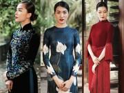 Thời trang - Chán trễ, xẻ, ôm sát, xuyên thấu, hoa hậu, á hậu lại mặc áo dài