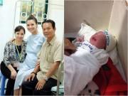 Làng sao - Hồng Quế hồi phục, tiết lộ những hình ảnh đáng yêu của con gái 1 ngày tuổi