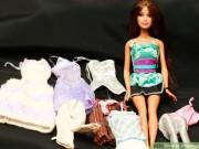 Thời trang - May váy cho búp bê - Hãy lưu để dành cho con gái!