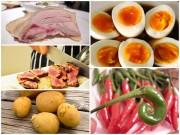 Bếp Eva - Ăn tái những thực phẩm này chẳng khác nào nạp