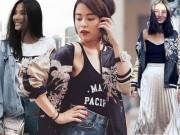 Thời trang - Sao Việt rầm rộ kiểu mặc áo khoác