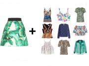 Tư vấn mặc đẹp - Thử tài phối đồ: Mẫu áo nào có thể kết đôi cùng chiếc chân váy này?