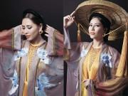 Tiết lộ trang phục dân tộc hoàn thành trong 5 ngày của Nguyễn Thị Loan