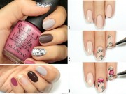 Làm đẹp - Thanh lịch với 10 kiểu nail đẹp ngày đầu tuần cho các nàng công sở