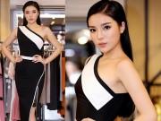 Thời trang - Hoa hậu Kỳ Duyên vai trần gợi cảm bất ngờ xuất hiện tại Hà Nội